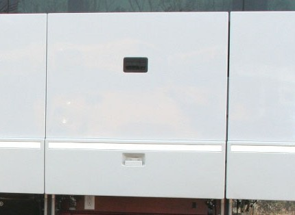 Prevost H345 Luggage Bay Doors